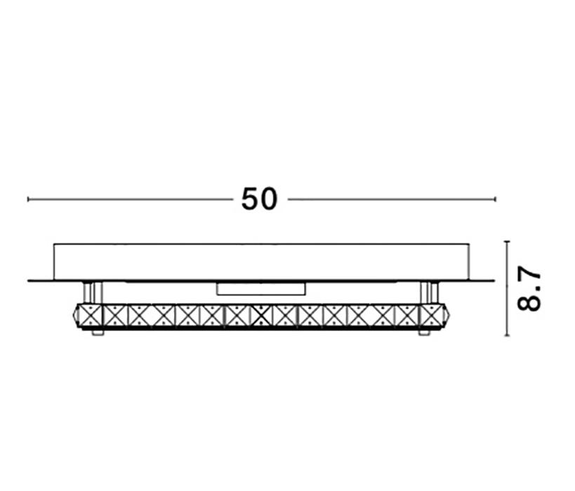 Nova Luce NL-9361086 Zeffari LED mennyezeti lámpa