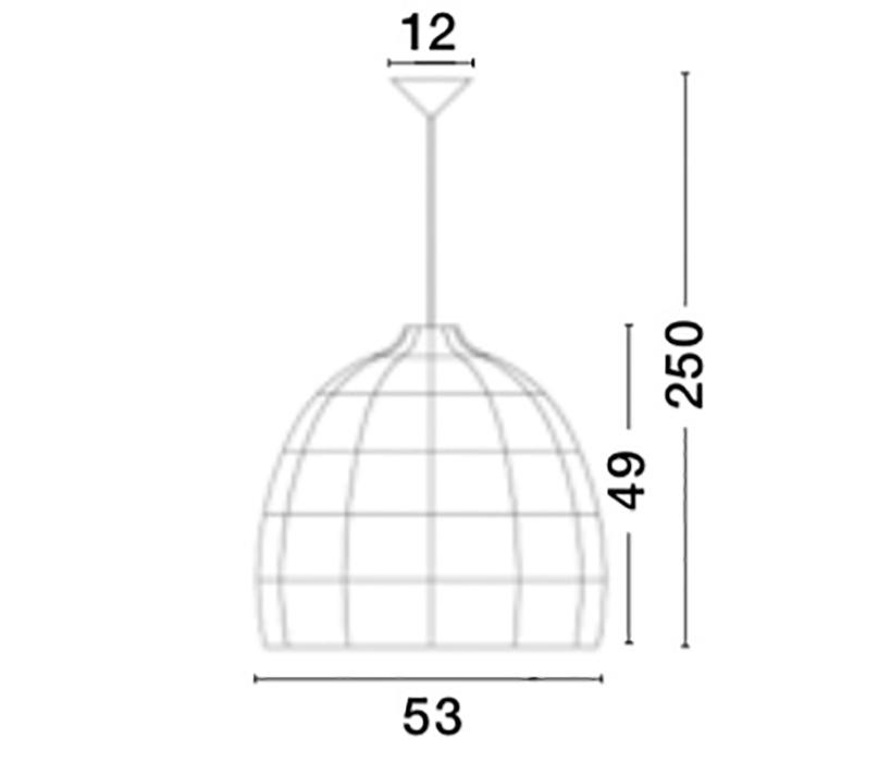 Nova Luce NL-9586691 Destin függeszték