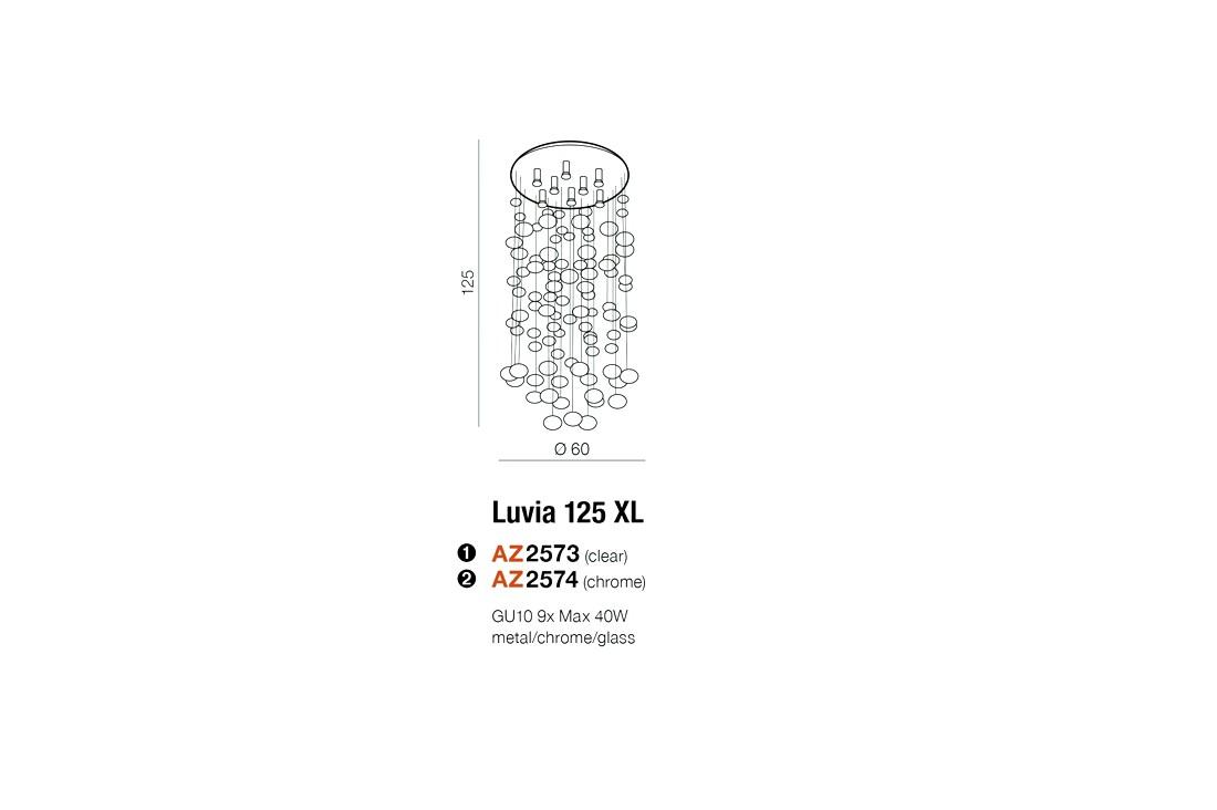 Azzardo AZ-2574 Luvia mennyezeti lámpa