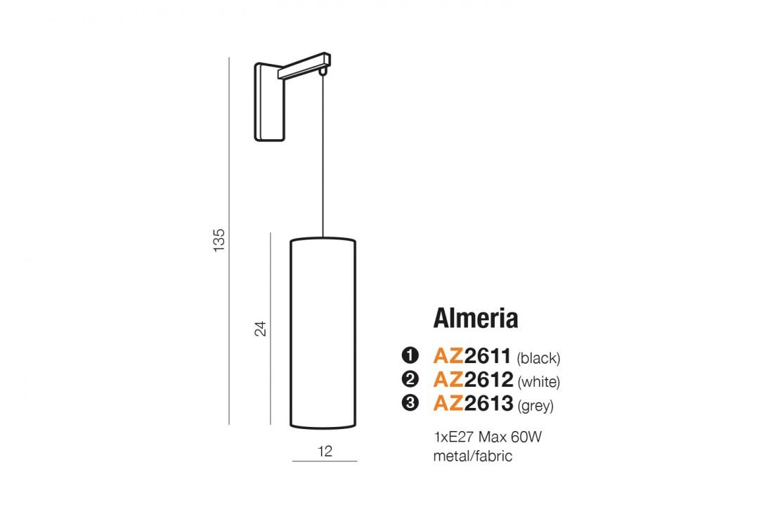 Azzardo AZ-2612 Almeria falikar