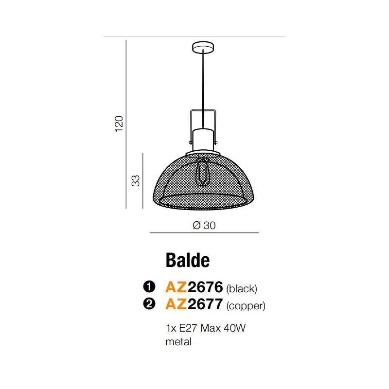 Azzardo AZ-2677 Balde függeszték
