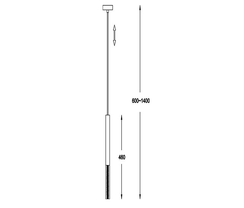 Zuma ZU-P0461-01E-F4F4 One LED függeszték