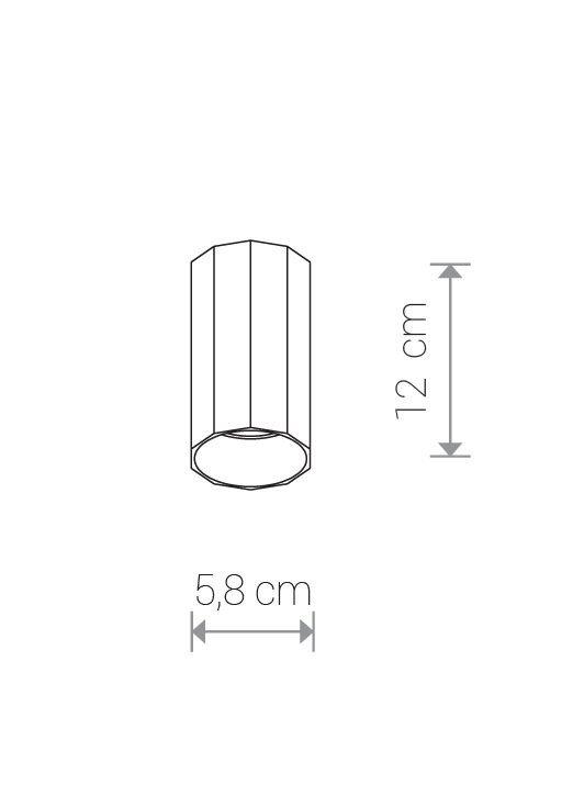 Nowodvorski TL-8876 Poly mennyezeti lámpa