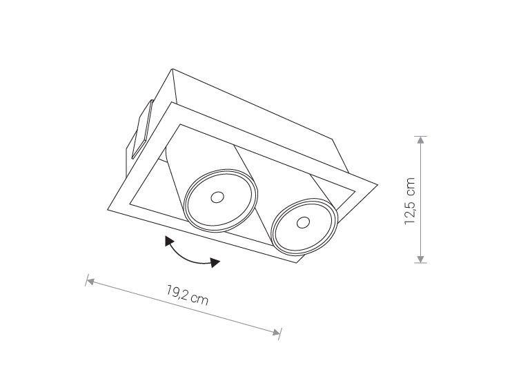 Nowodvorski TL-8938 Eye Mod beépíthetõ lámpa