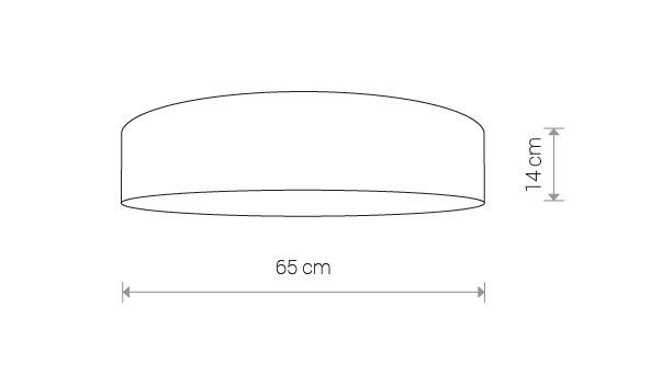 Nowodvorski TL-8956 Croco 4 izzós mennyezeti lámpa