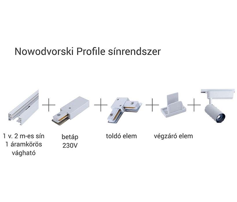 Nowodvorski TL-9008 Profile Iris LED sínrendszeres lámpa