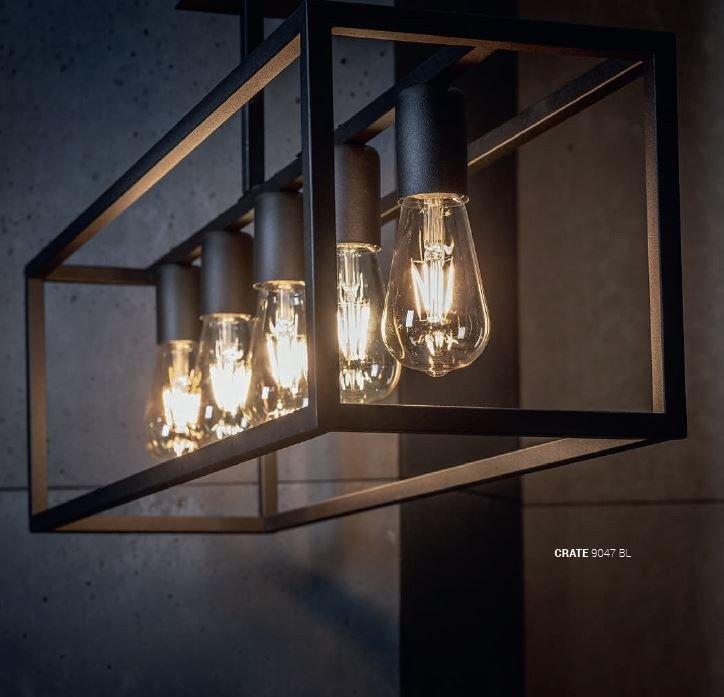Nowodvorski TL-9047 Crate 5 izzós mennyezeti lámpa