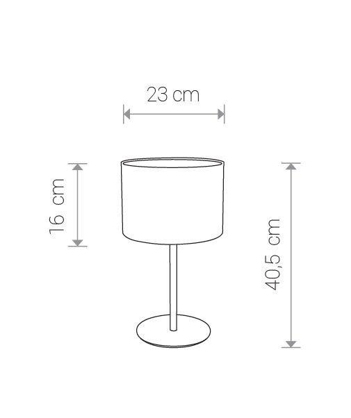 Nowodvorski TL-9091 Alice asztali lámpa
