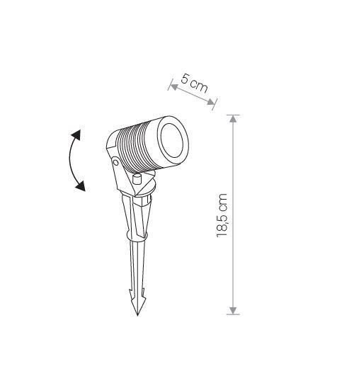 Nowodvorski TL-9100 Spike LED kültéri leszúrható hangulatvilágítás