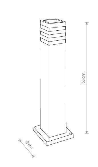 Nowodvorski TL-9158 Oir kültéri állólámpa