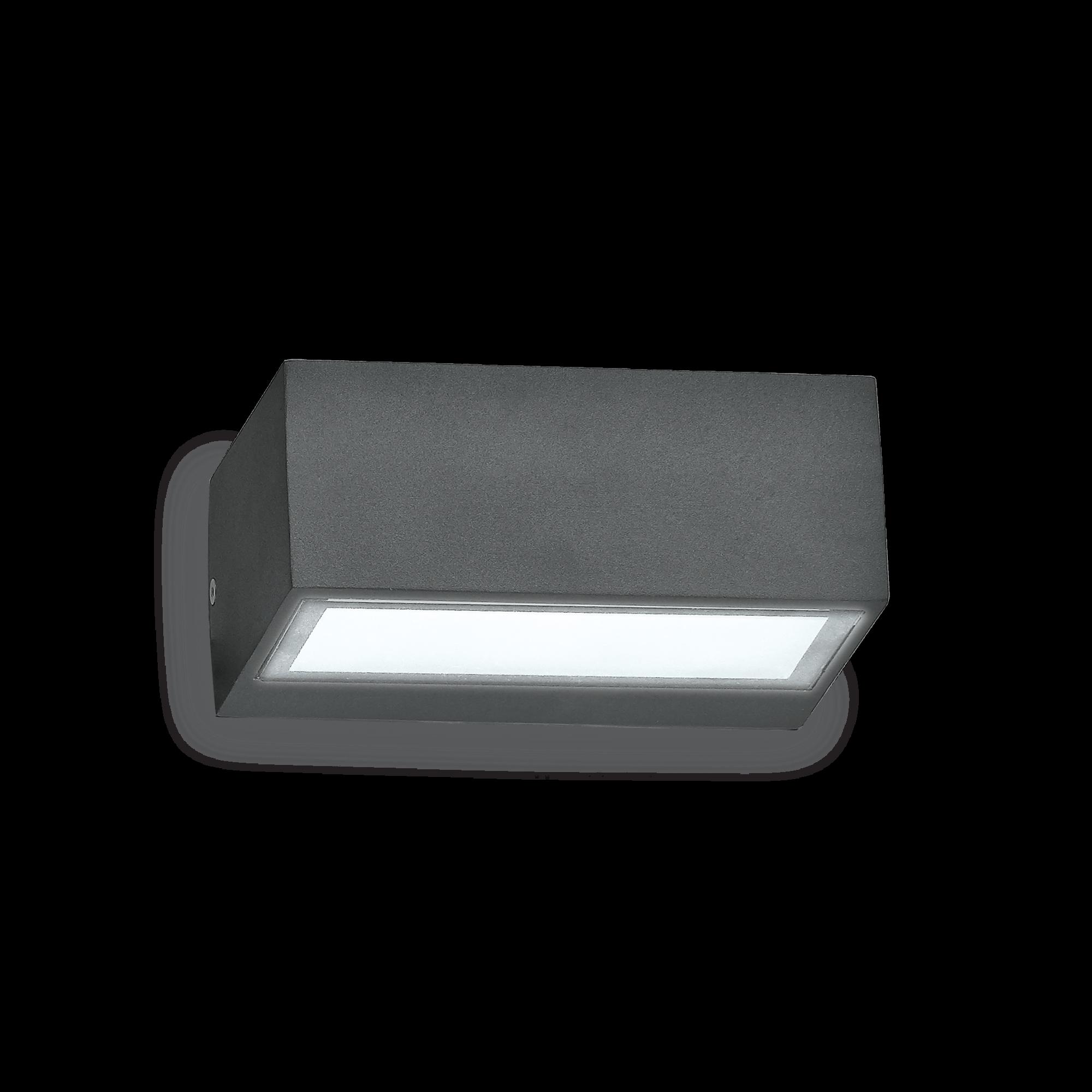 Idea Lux 115368 Twin AP1 Antracite kültéri fali lámpa