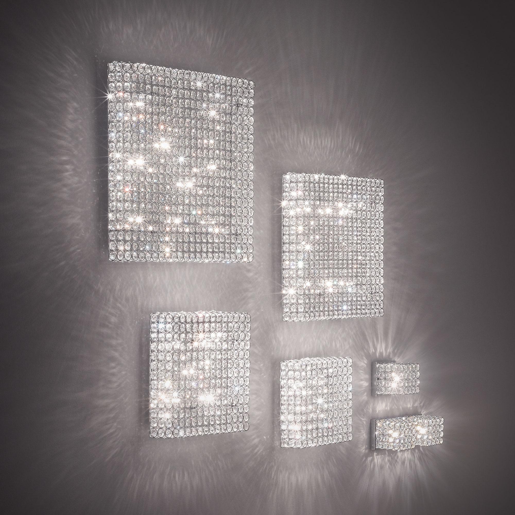 Ideal Lux 080284 Admiral AP1 kristály falilámpa