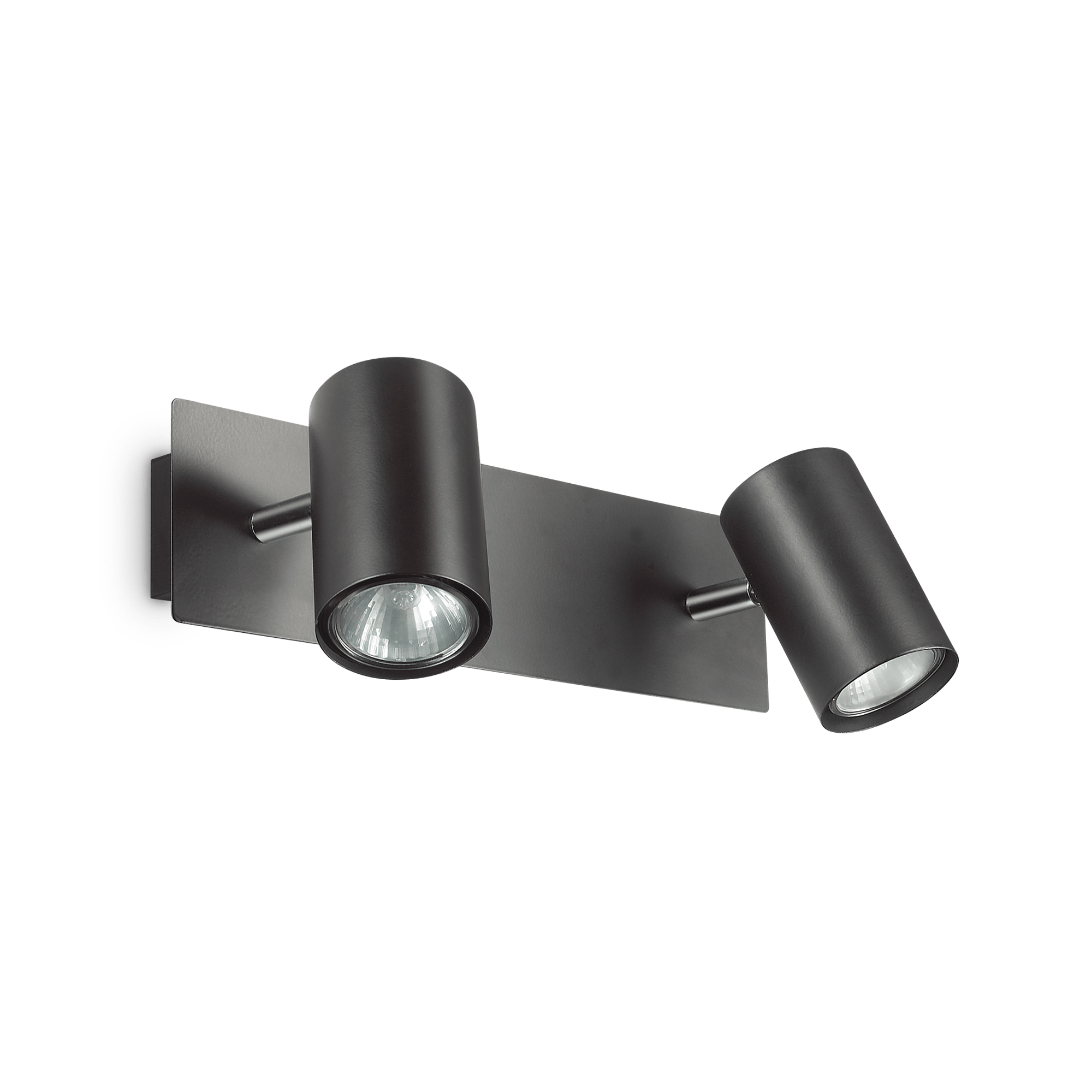 Ideal Lux 156743 SPOT AP2 NERO 2 izzós spot falilámpa
