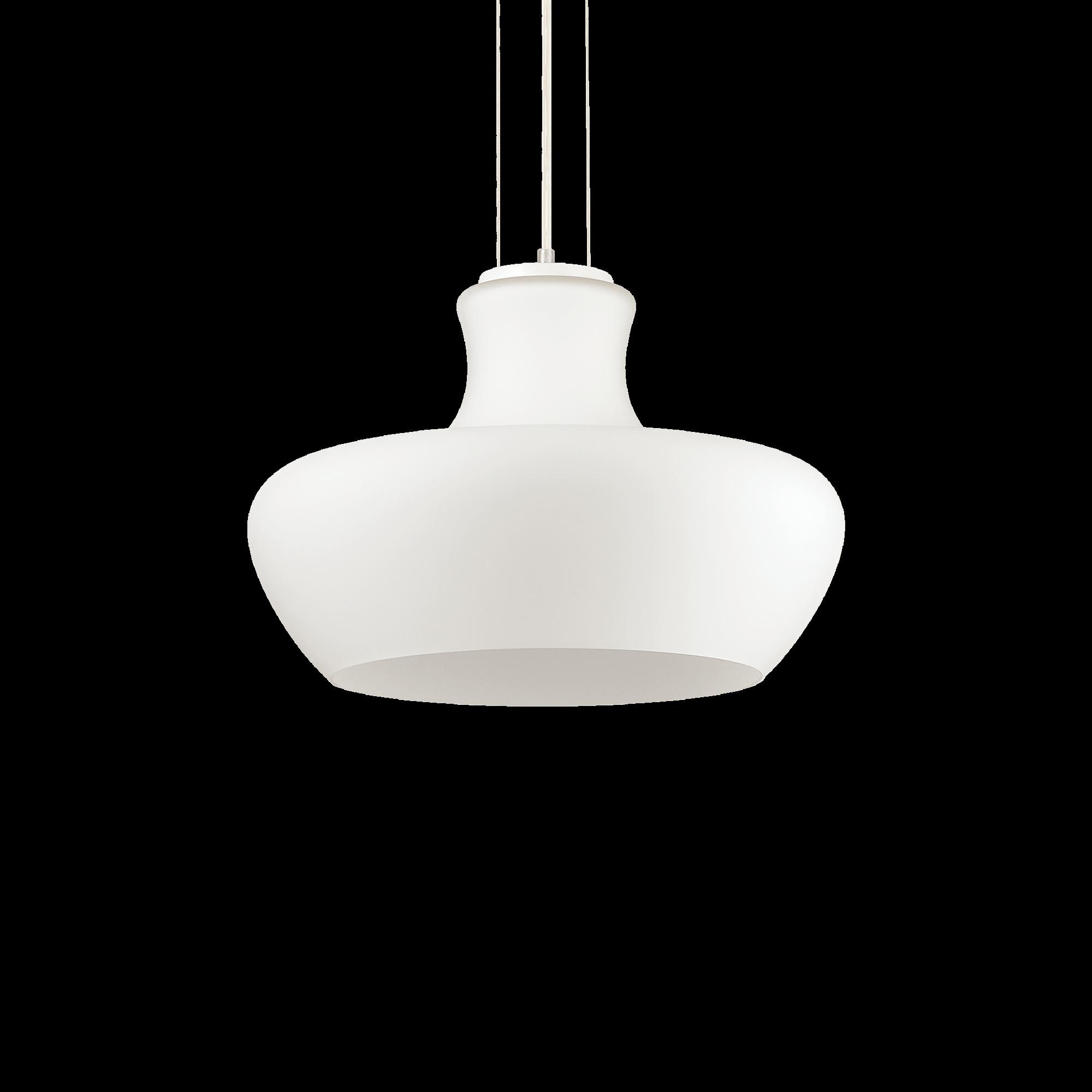 Ideal Lux 137308 Aladino SP1 D45 Bianco 1 izzós függeszték