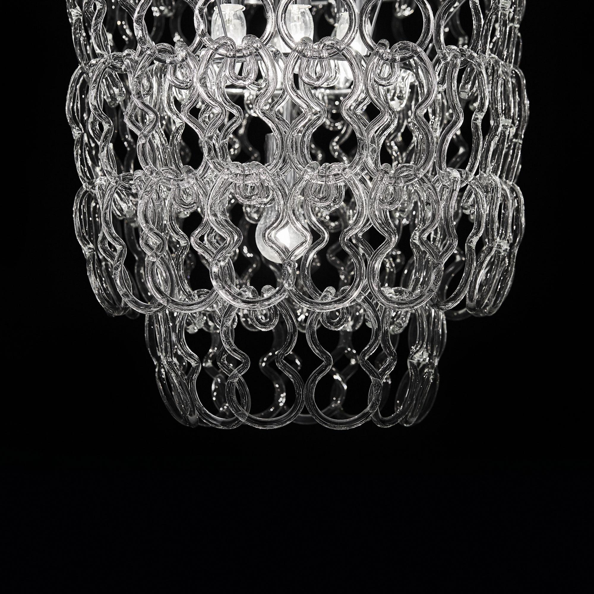 Ideal Lux 020365 Alba SP7 Round lámpa függeszték