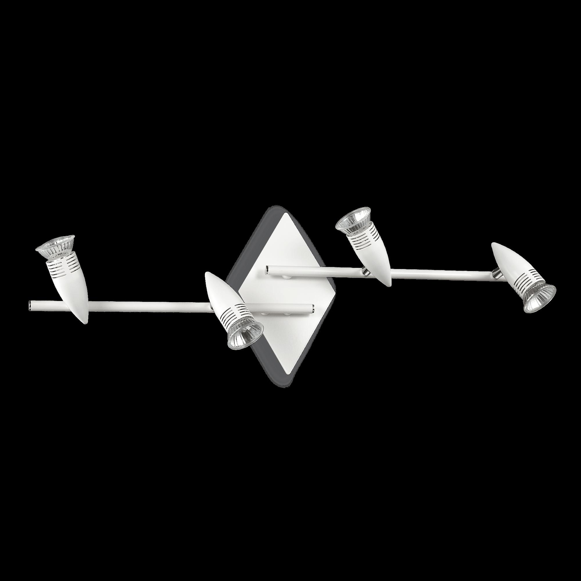 Ideal Lux 122731 Alfa PL4 Bianco mennyezet spot lámpa