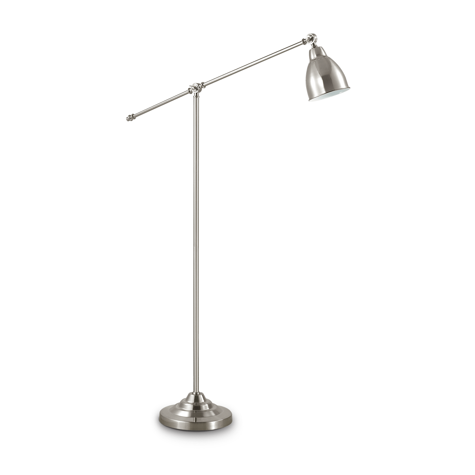 Ideal Lux 015286 NEWTON PT1 NICKEL állólámpa