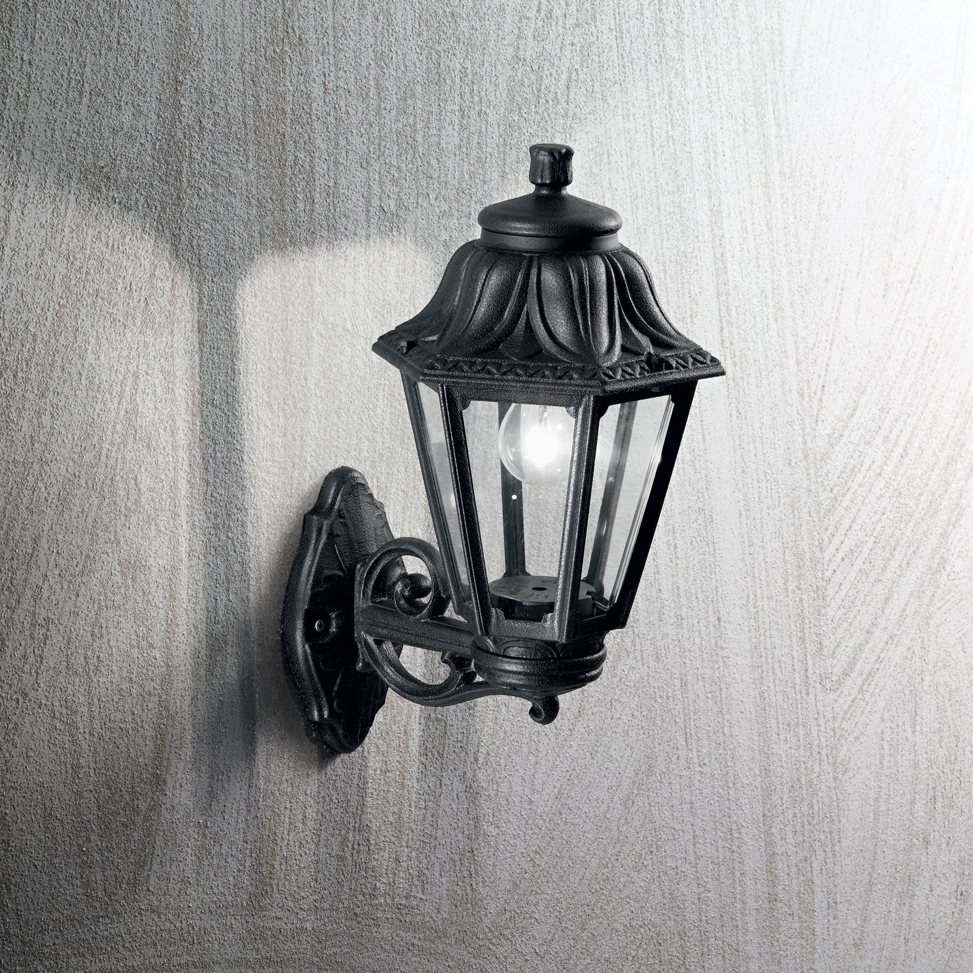 Ideal Lux 101491 ANNA AP1 BIG NERO kültéri fali lámpa