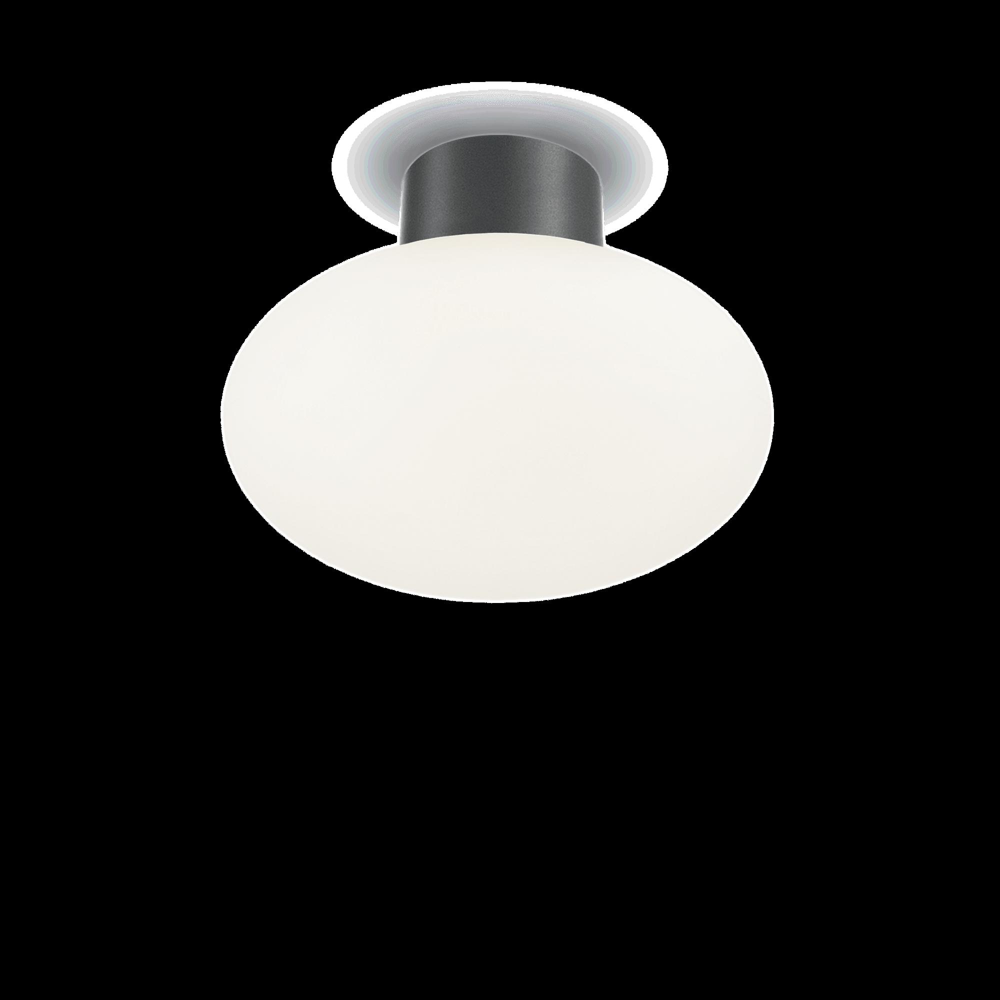 Ideal Lux 149455 ARMONY PL1 ANTRACITE kültéri mennyezeti lámpa