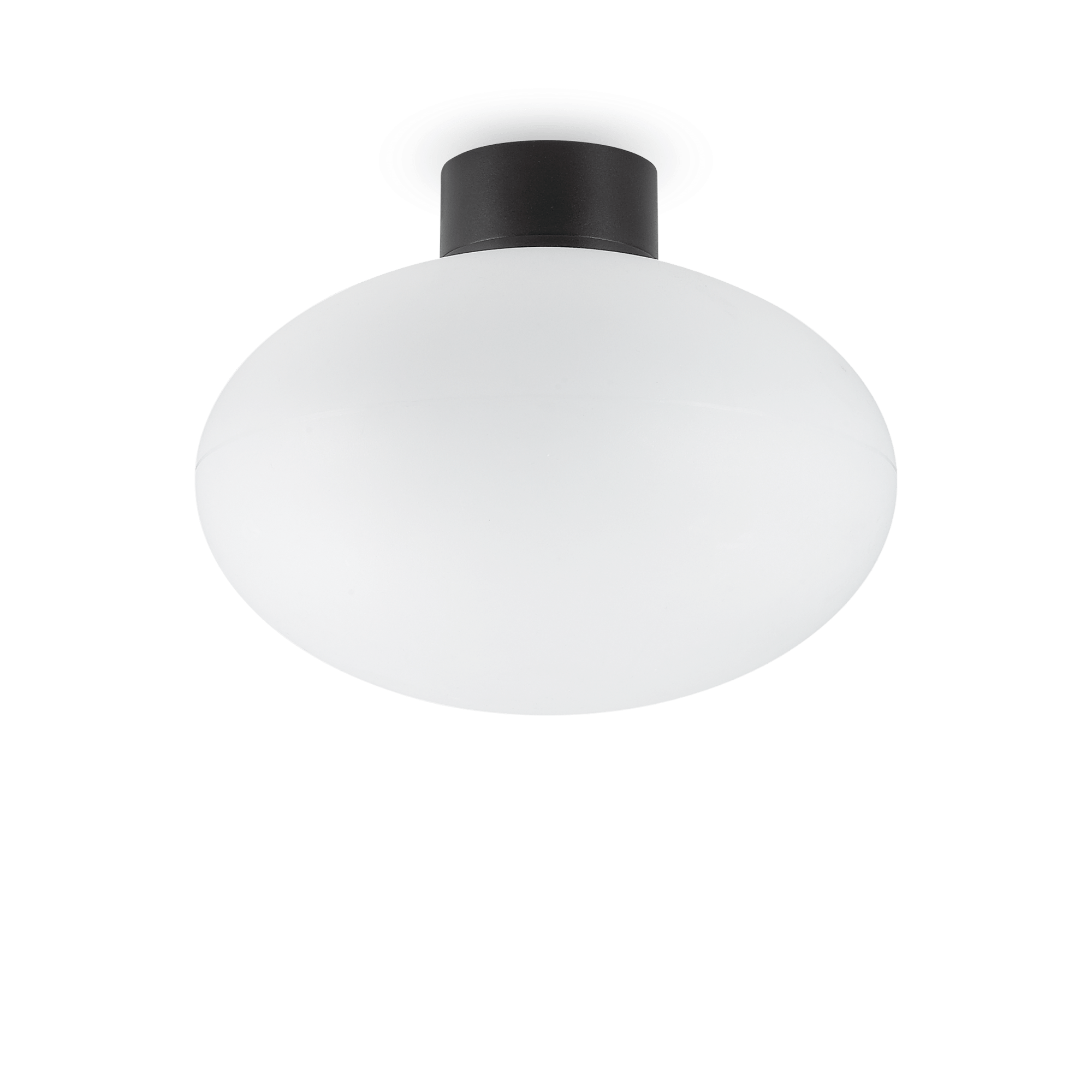 Ideal Lux 149462 ARMONY PL1 NERO kültéri mennyezeti lámpa
