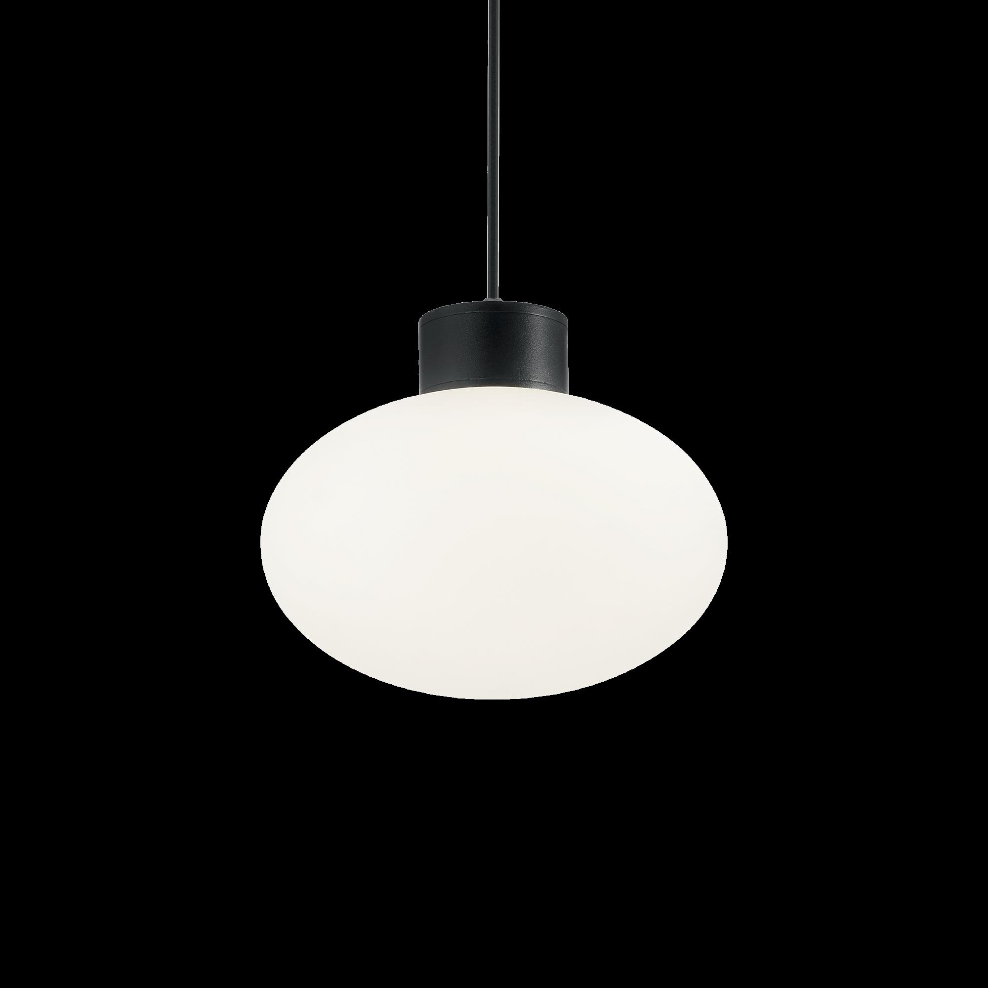 Ideal Lux 149493 ARMONY SP1 NERO kültéri függeszték
