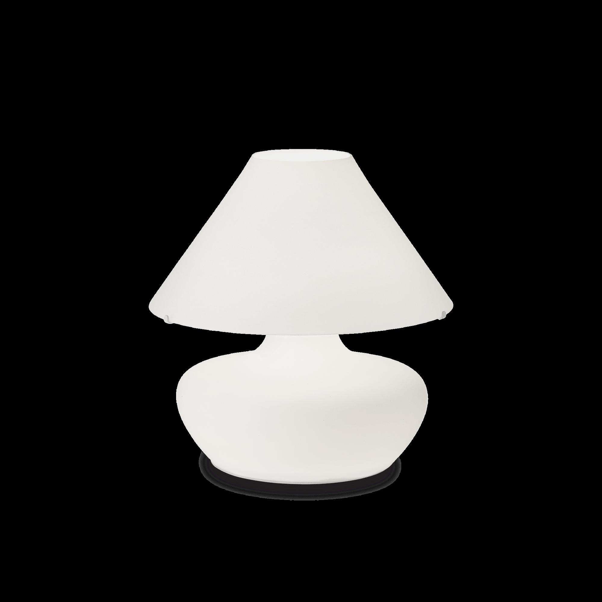 Ideal Lux 137285 ALADINO TL3 D35 BIANCO asztali lámpa