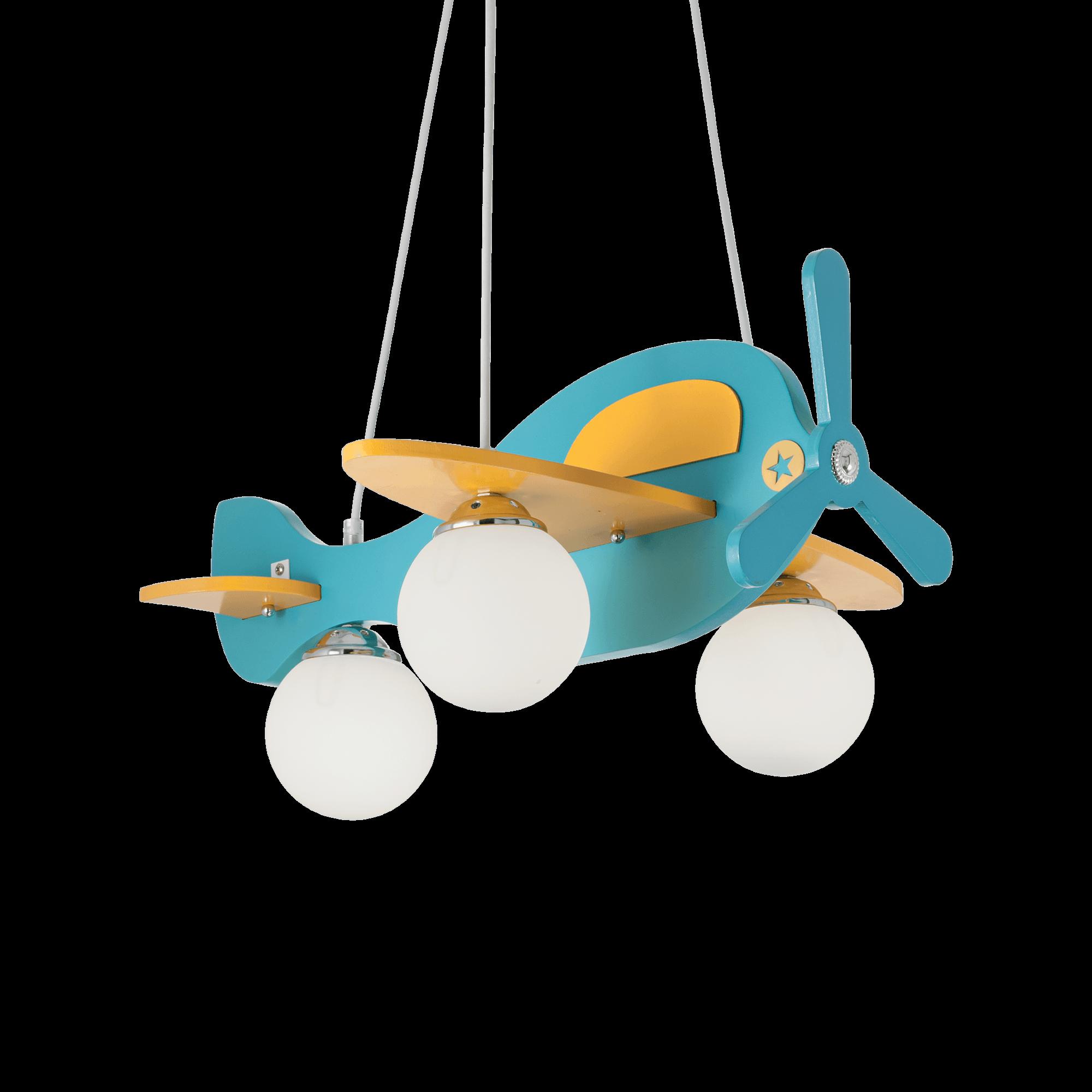 Ideal Lux 136325 Avion-1 SP3 gyermek függeszték