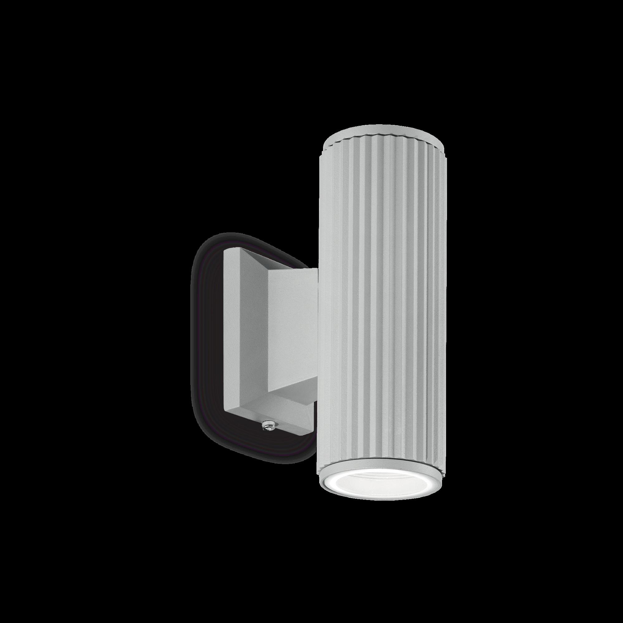 Ideal Lux 129440 BASE AP2 GRIGIO kültéri fali lámpa
