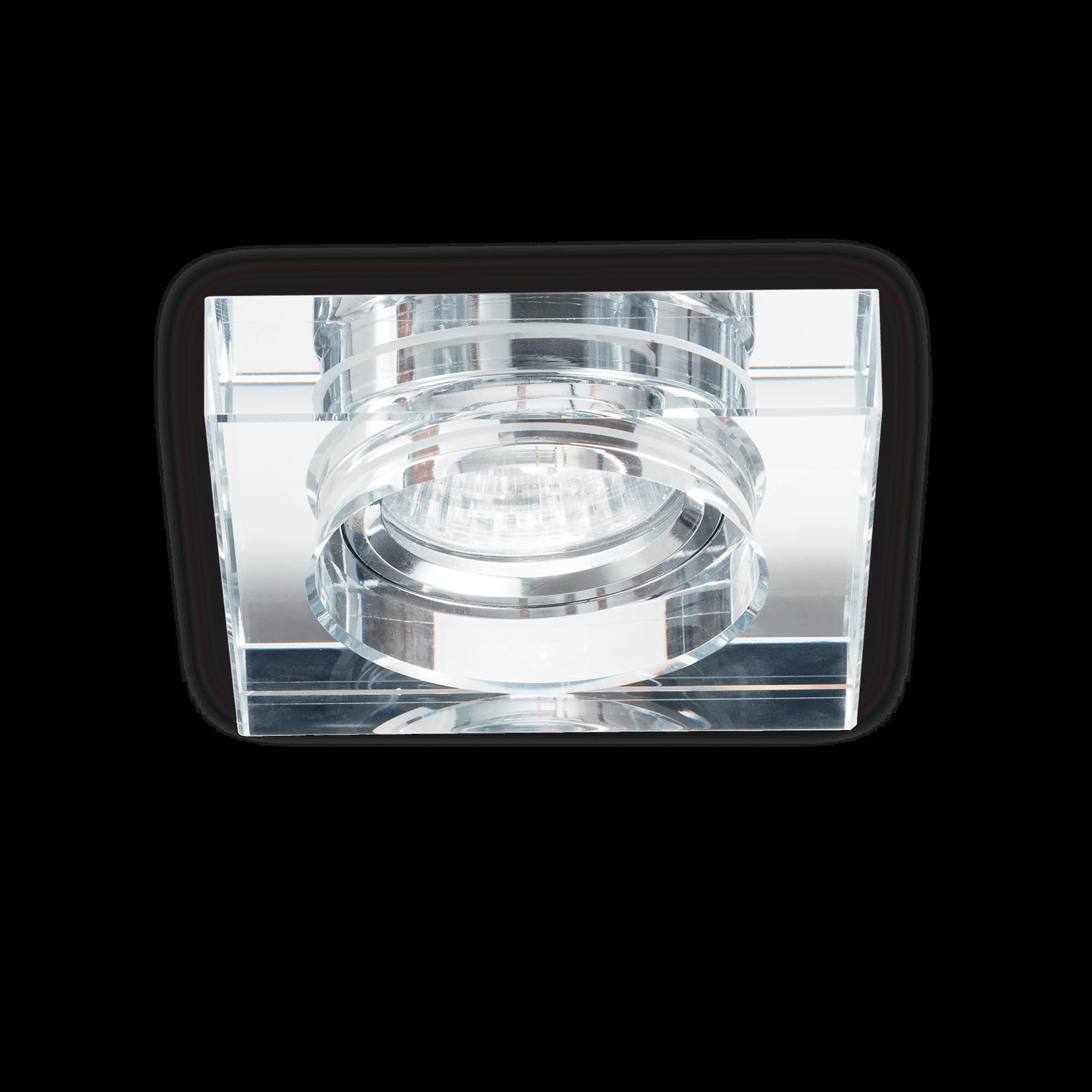 Ideal Lux 114019 BLUES SQUARE TRASPARENTE beépíthető lámpa