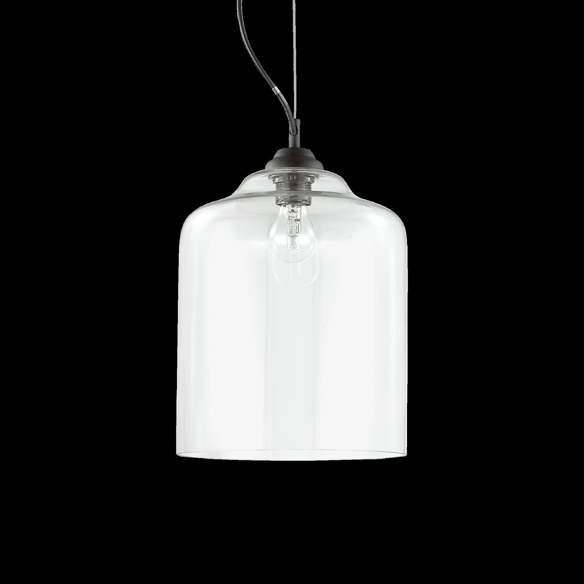 Ideal Lux 112305 Bistro SP1 Square Trasparente függeszték