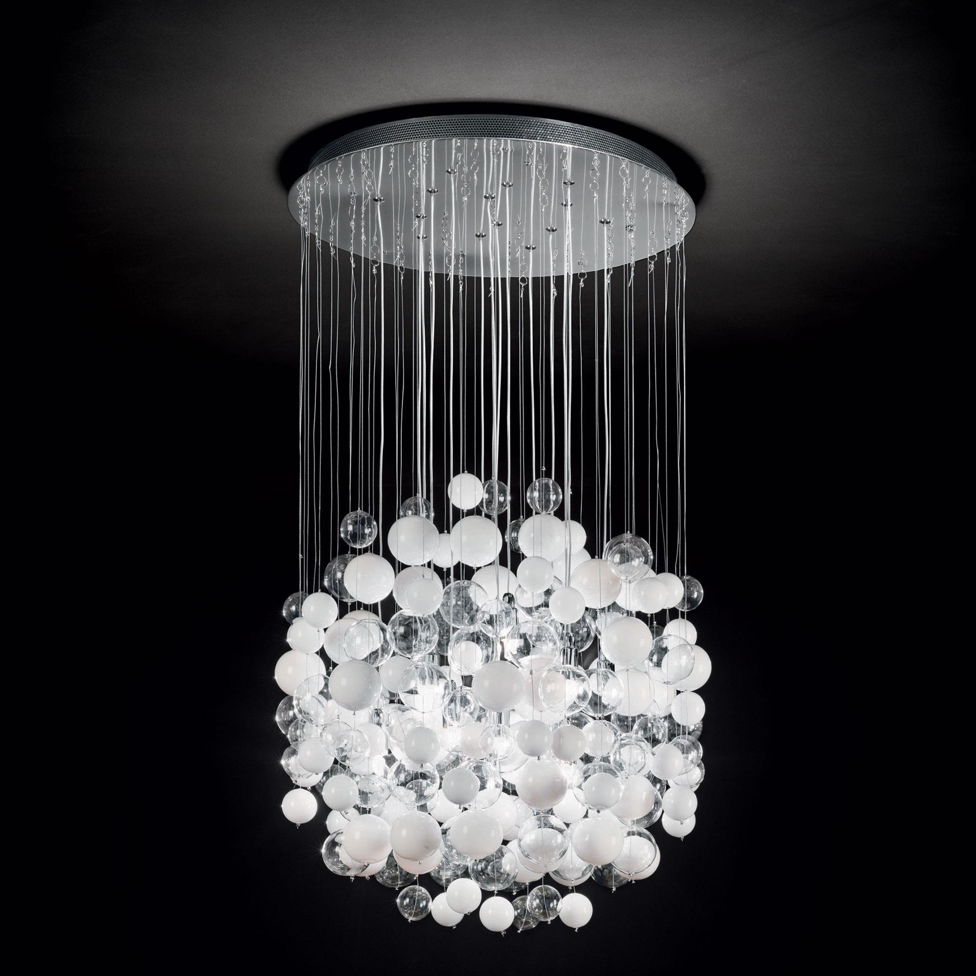 Ideal Lux 087924 Bollicine SP14 Bianco lámpafüggeszték
