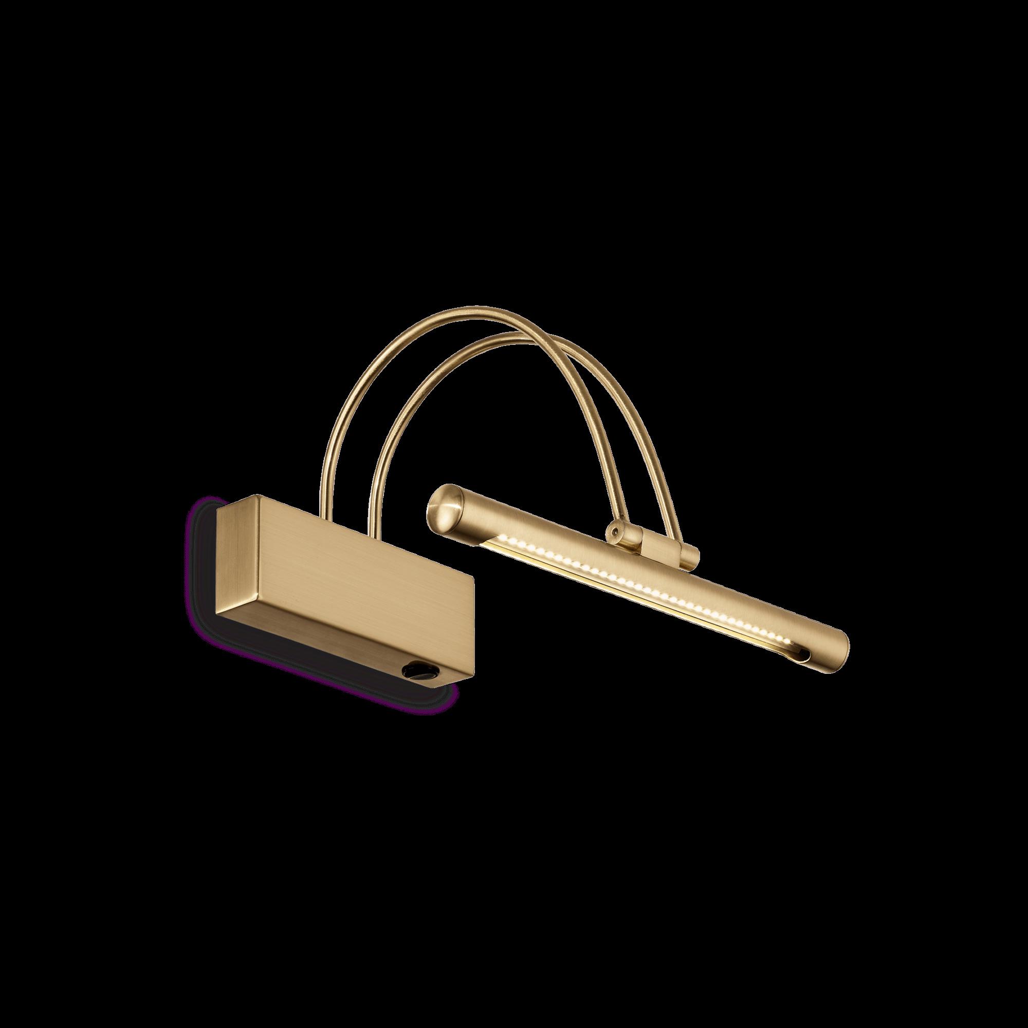 Ideal Lux 121154 BOW AP36 OTTONE SATINATO képmegvilágító lámpa