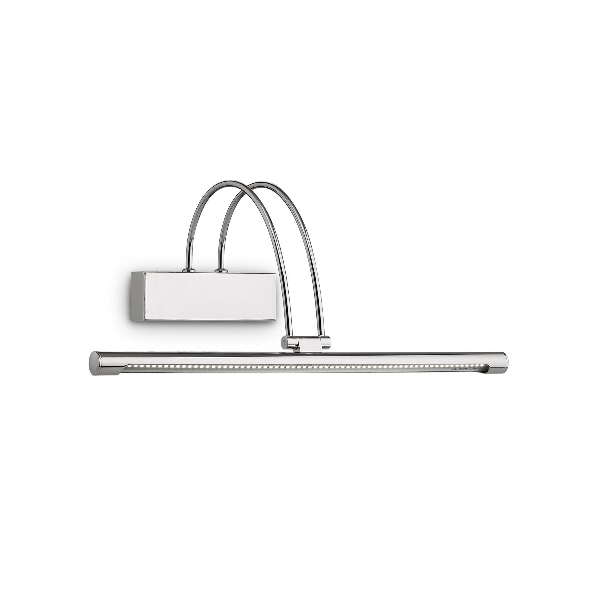 Ideal Lux 007045 Bow AP66 Cromo LED képmegvilágító lámpa