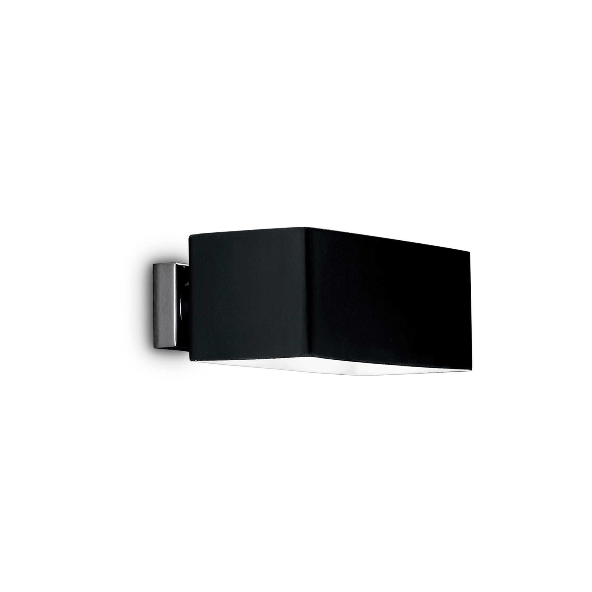 Ideal Lux 009513 Box AP2 Nero falilámpa