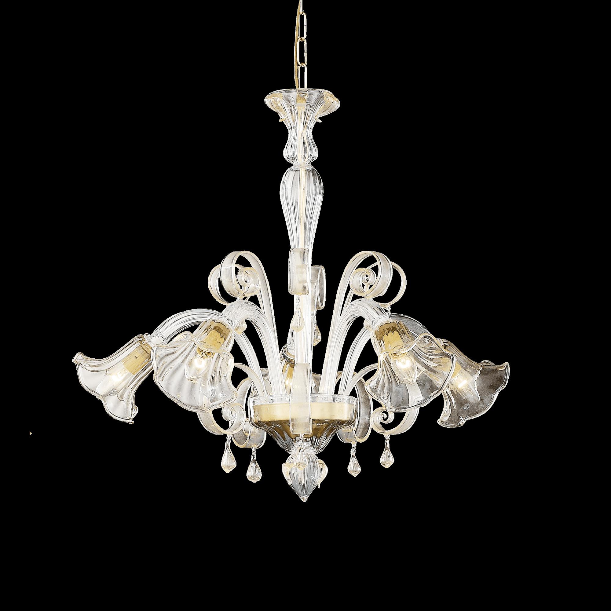 Ideal Lux 020969 Ca' D' Oro SP5 csillárfüggeszték lámpa