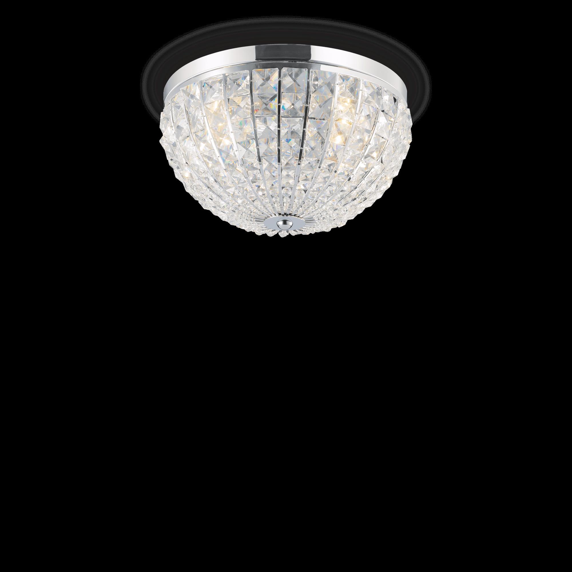 Ideal Lux 066400 Calypso PL4 kristály mennyezeti lámpa