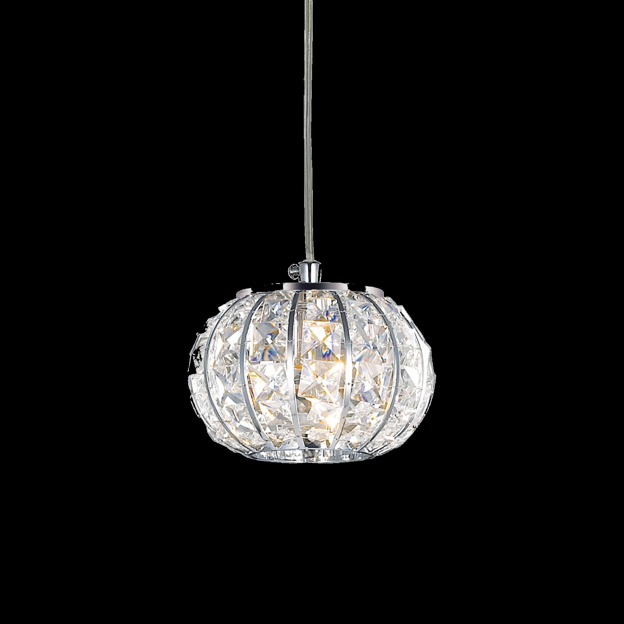 Ideal Lux 044187 Calypso SP1 kristály lámpafüggeszték