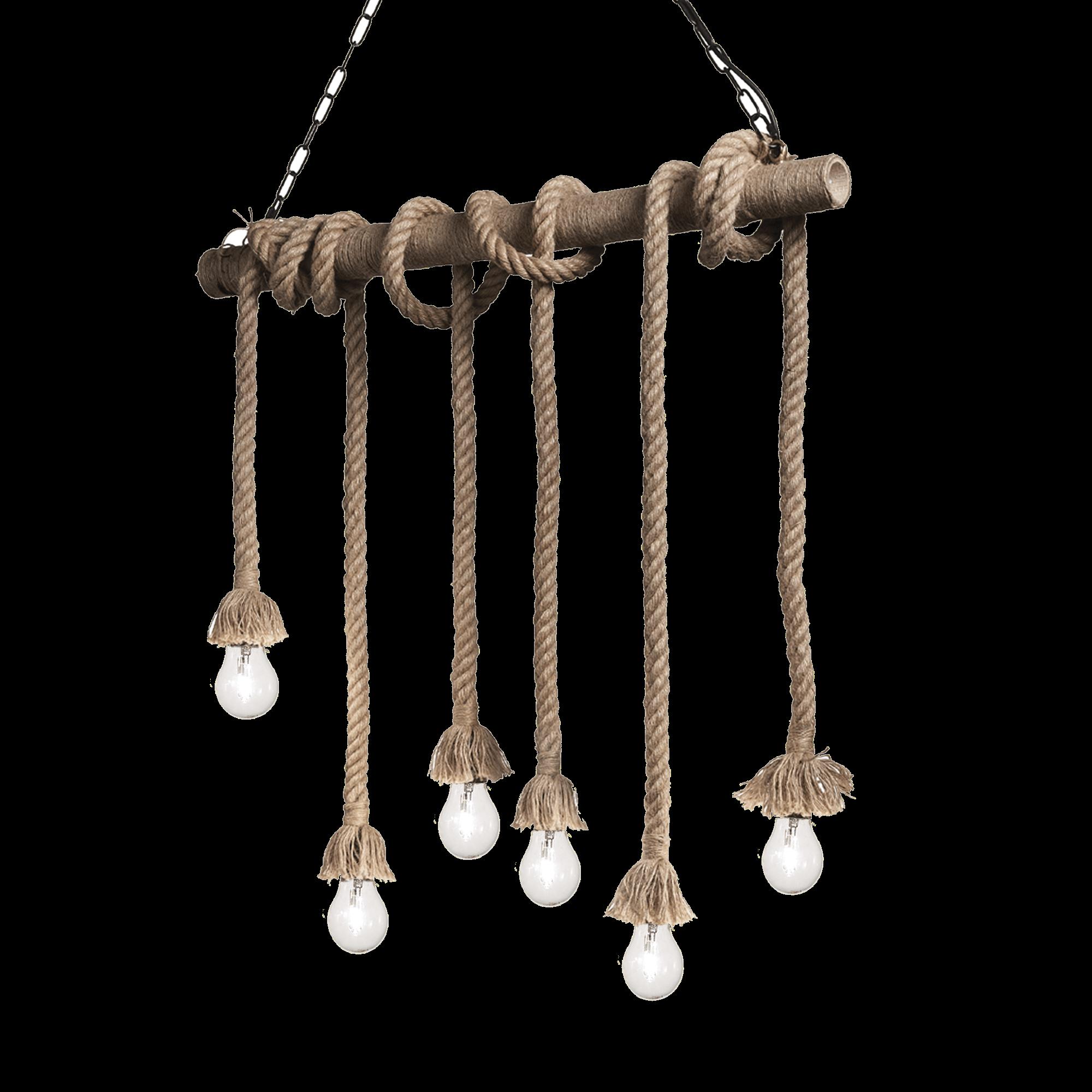 Ideal Lux 134826 Canapa SP6 lámpa függeszték