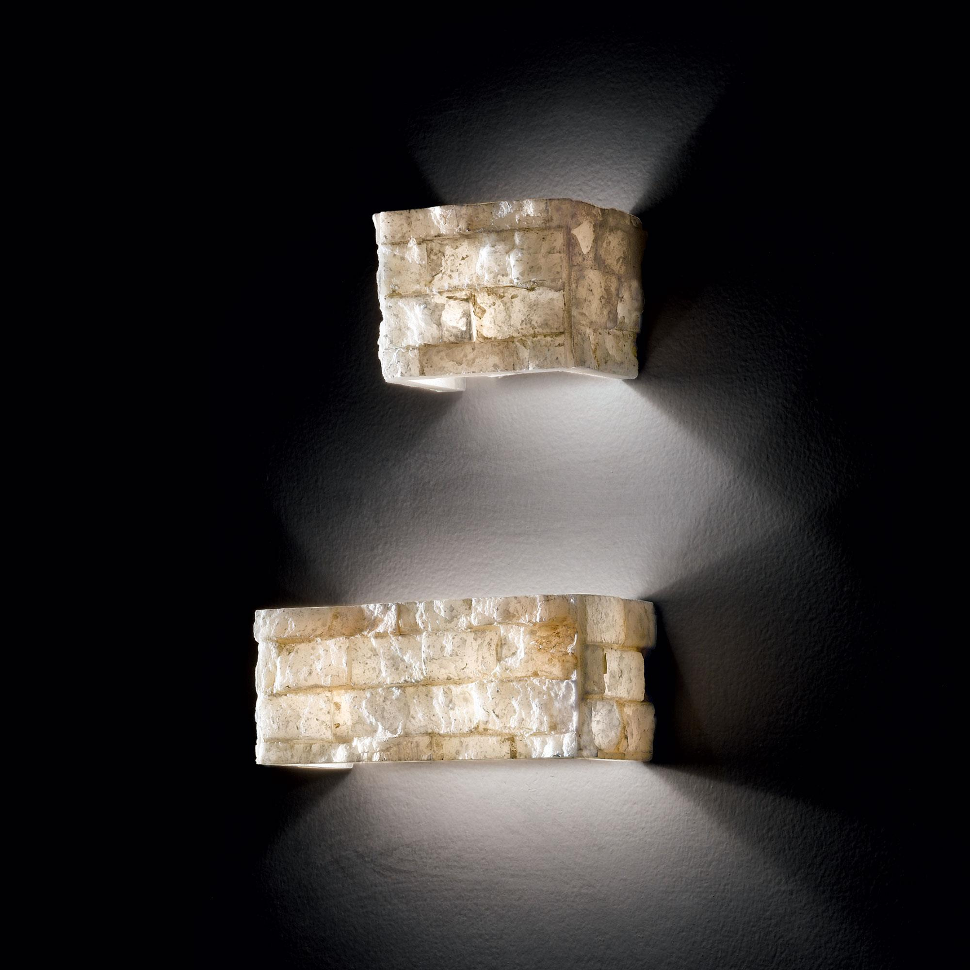 Ideal Lux 018775 Carrara AP2 falilámpa
