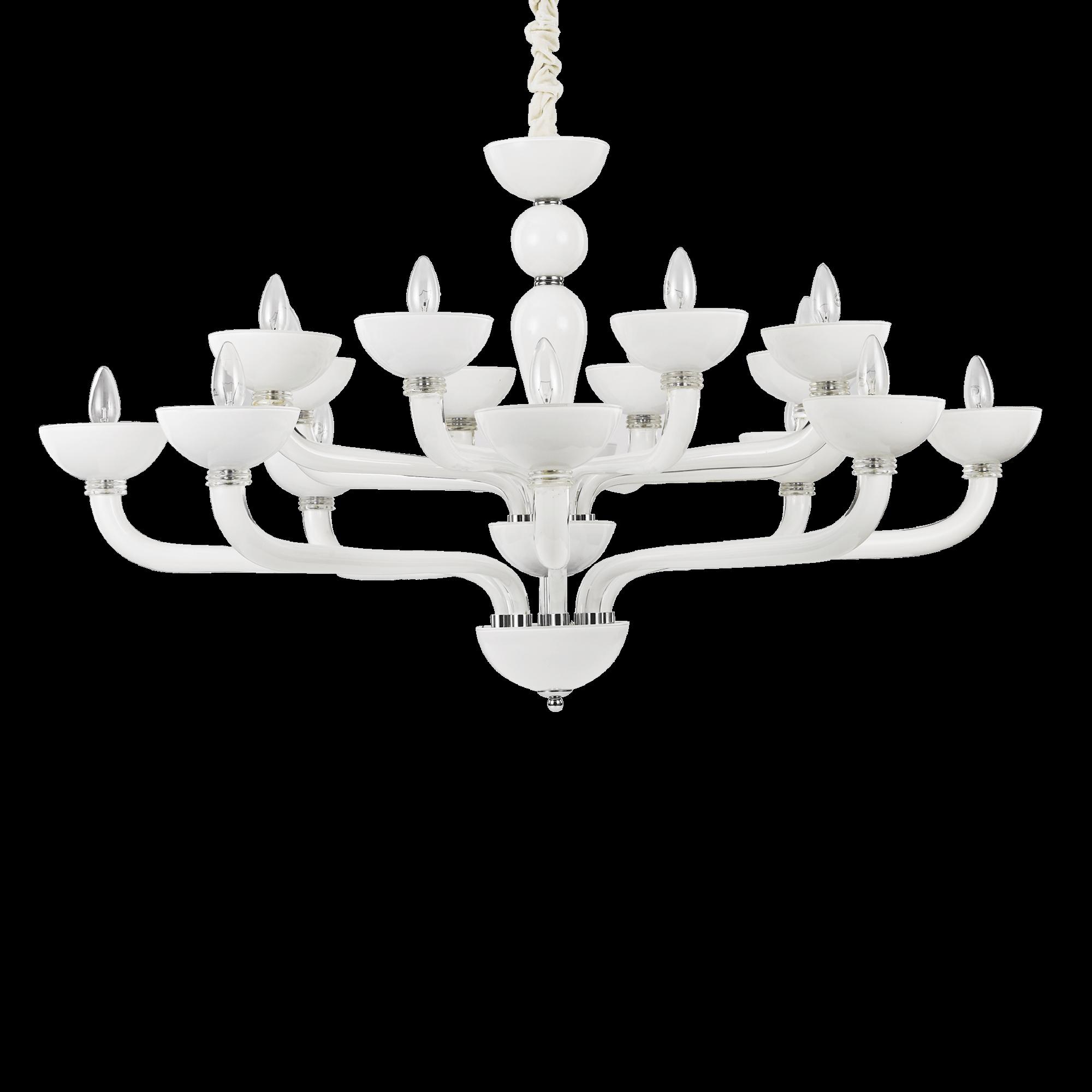 Ideal Lux 094120 Casanova SP16 Bianco csillár