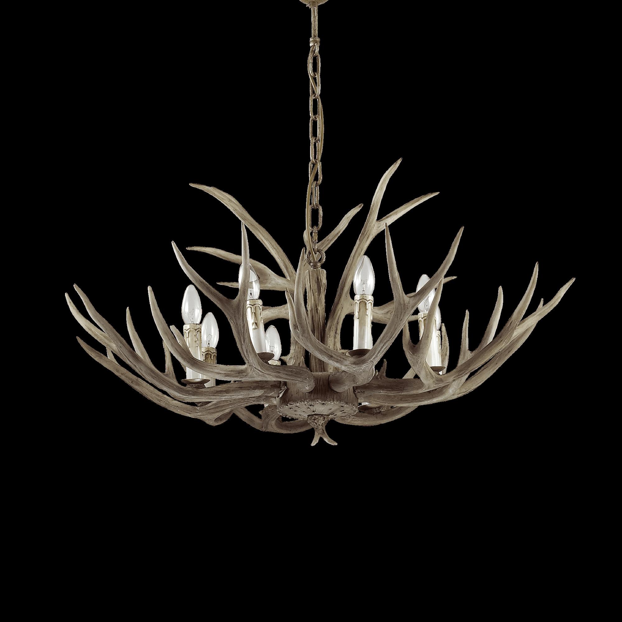 Ideal Lux 115504 Chalet SP8 8 izzós csillár