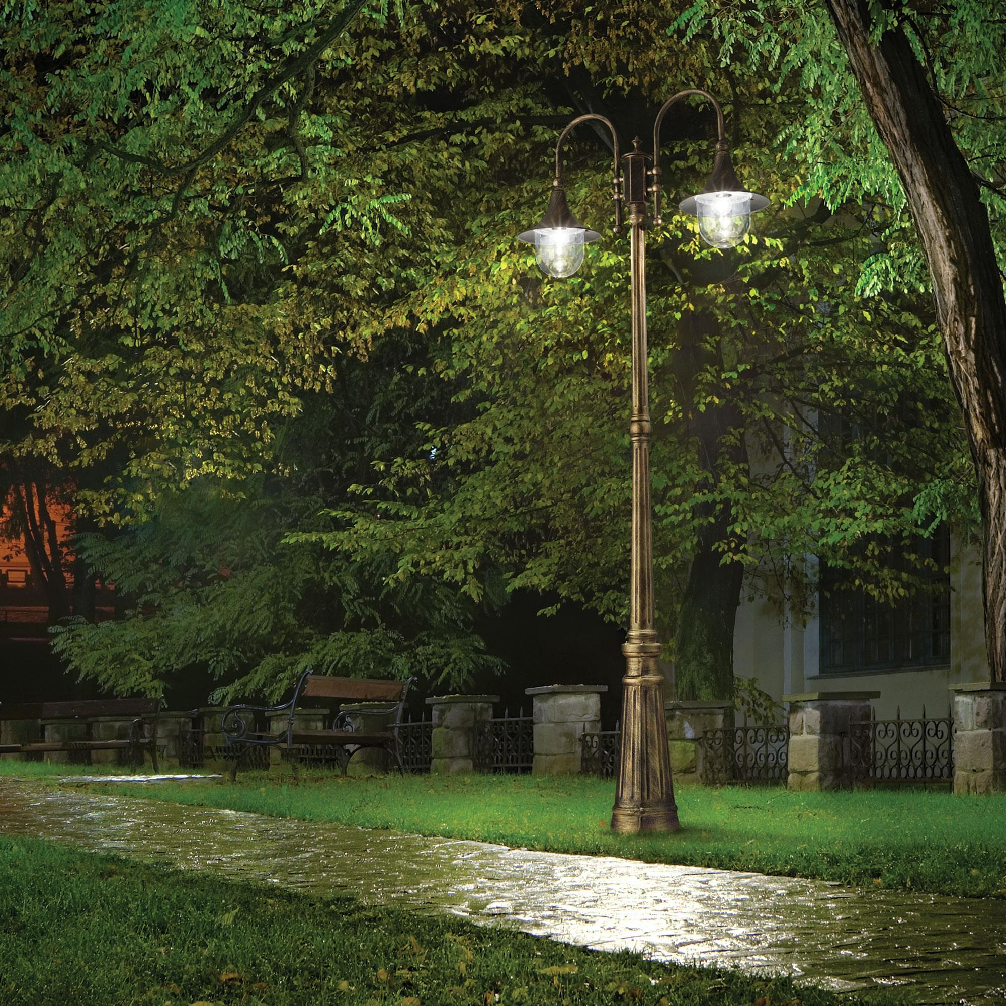 Ideal Lux 024097 CIMA PT2 NERO ANTICO kültéri állólámpa