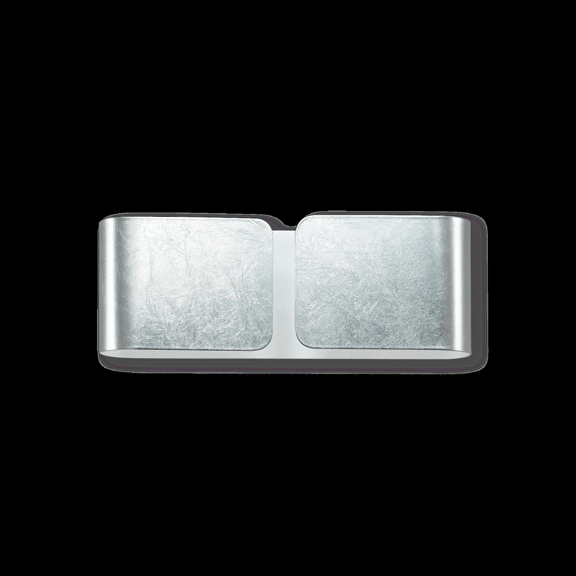 Ideal Lux 091136 Clip AP2 Mini Argento falilámpa