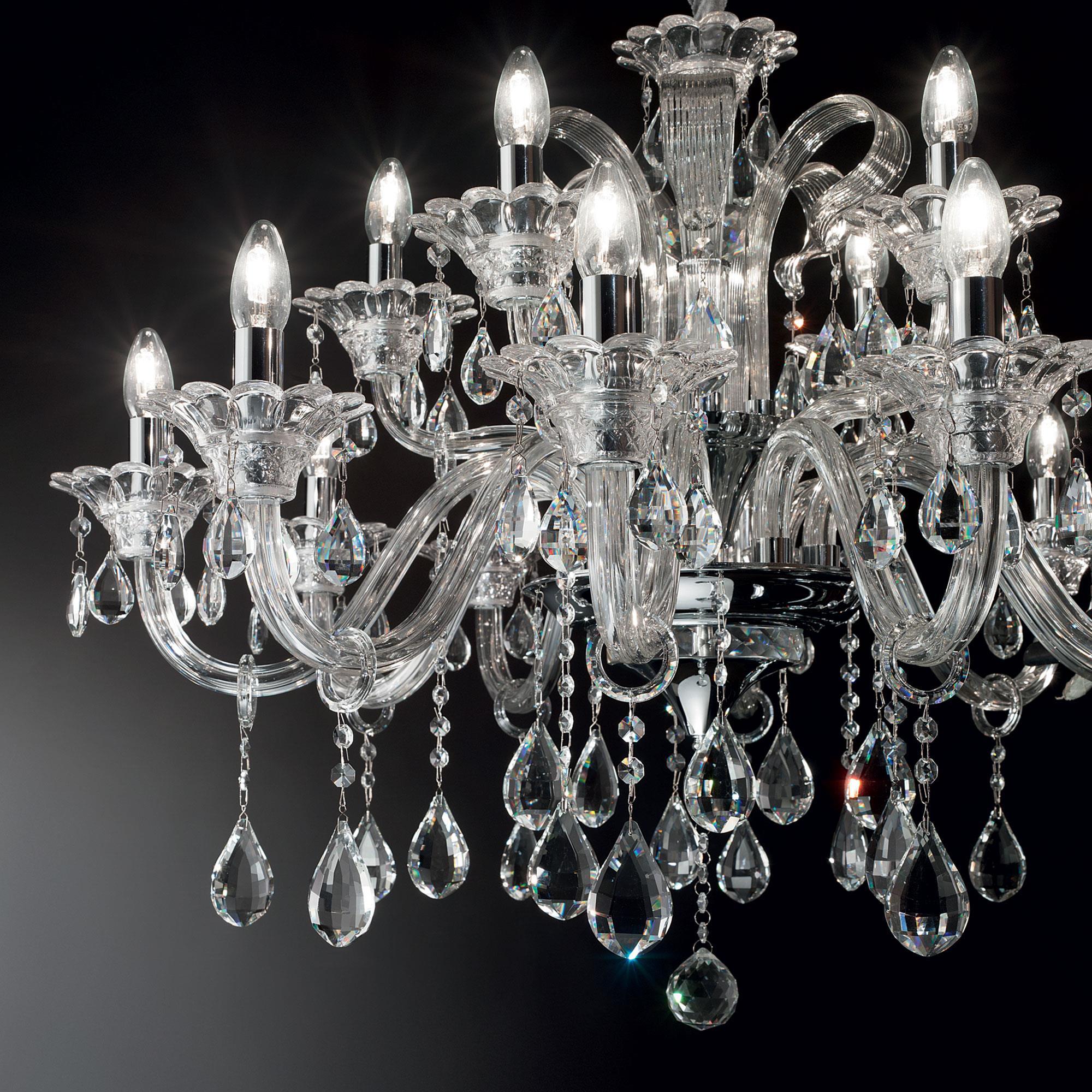 Ideal Lux 114170 Colossal SP15 Trasparente kristálycsillár