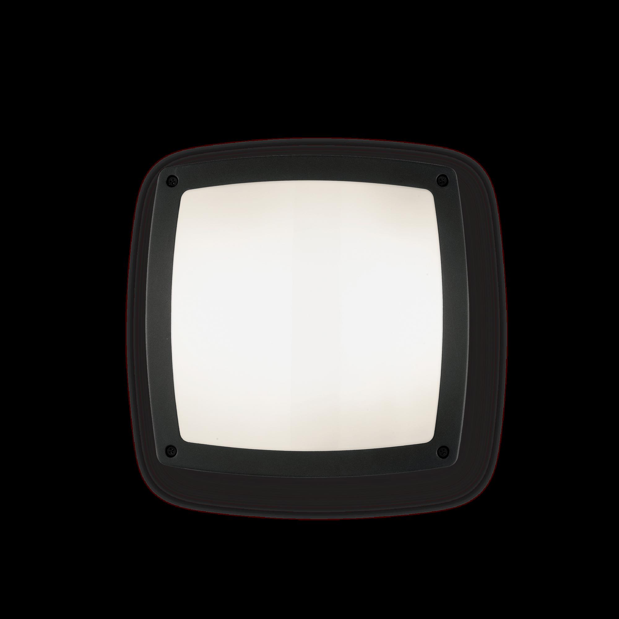 Ideal Lux 082271 Cometa PL3 Nero kültéri mennyezeti lámpa