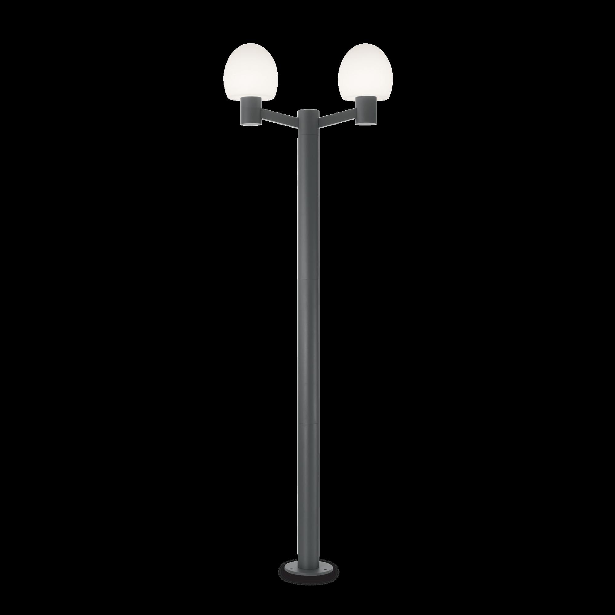 Ideal Lux 147208 CONCERTO PT2 ANTRACITE kültéri állólámpa