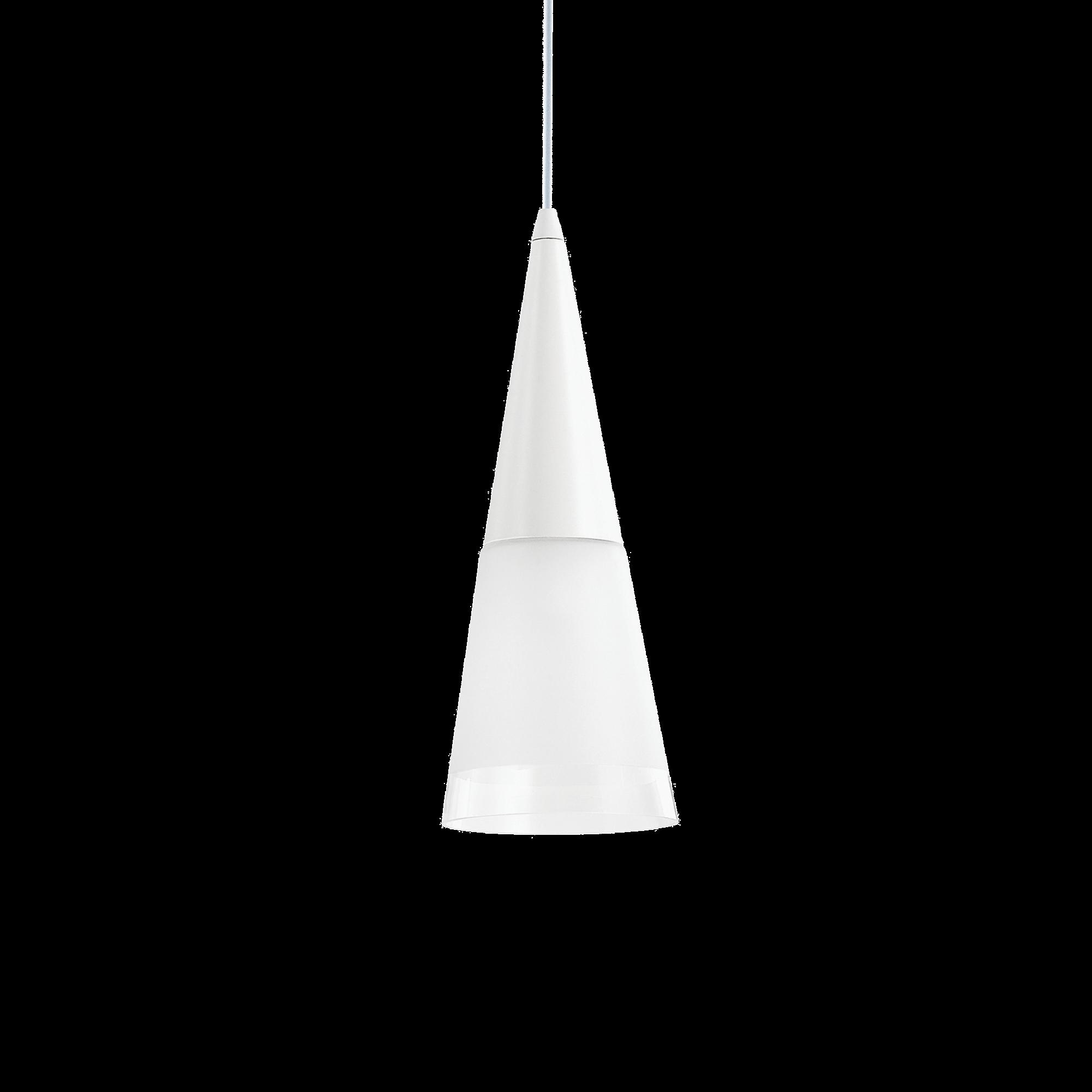 Ideal Lux 112459 Cono SP1 Bianco lámpafüggeszték