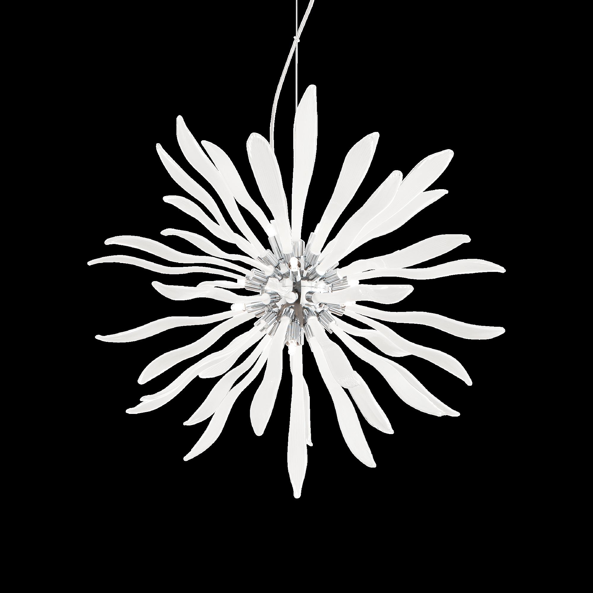Ideal Lux 074689 Corallo SP12 Bianco lámpafüggeszték