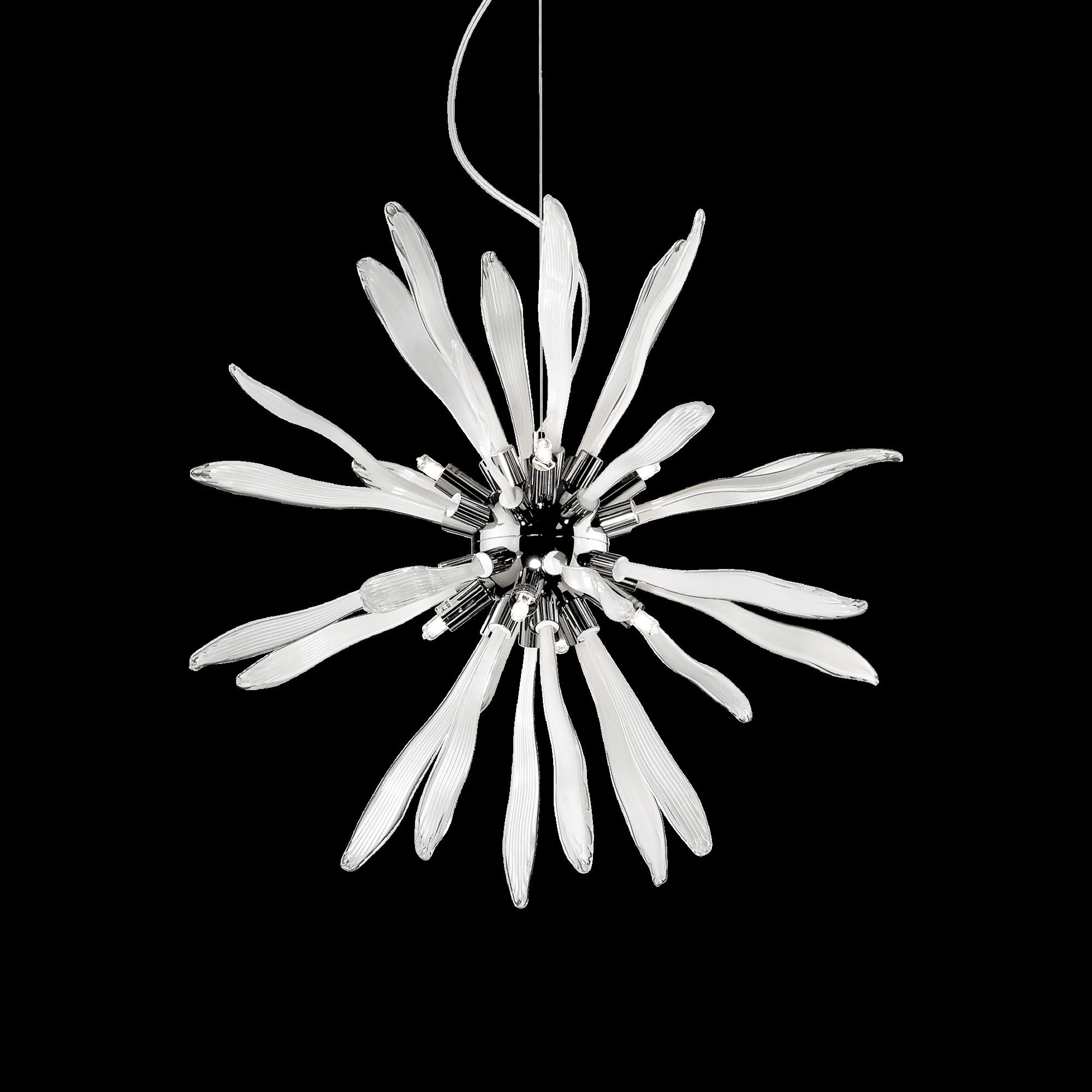 Ideal Lux 086576 Corallo SP8 Bianco lámpafüggeszték