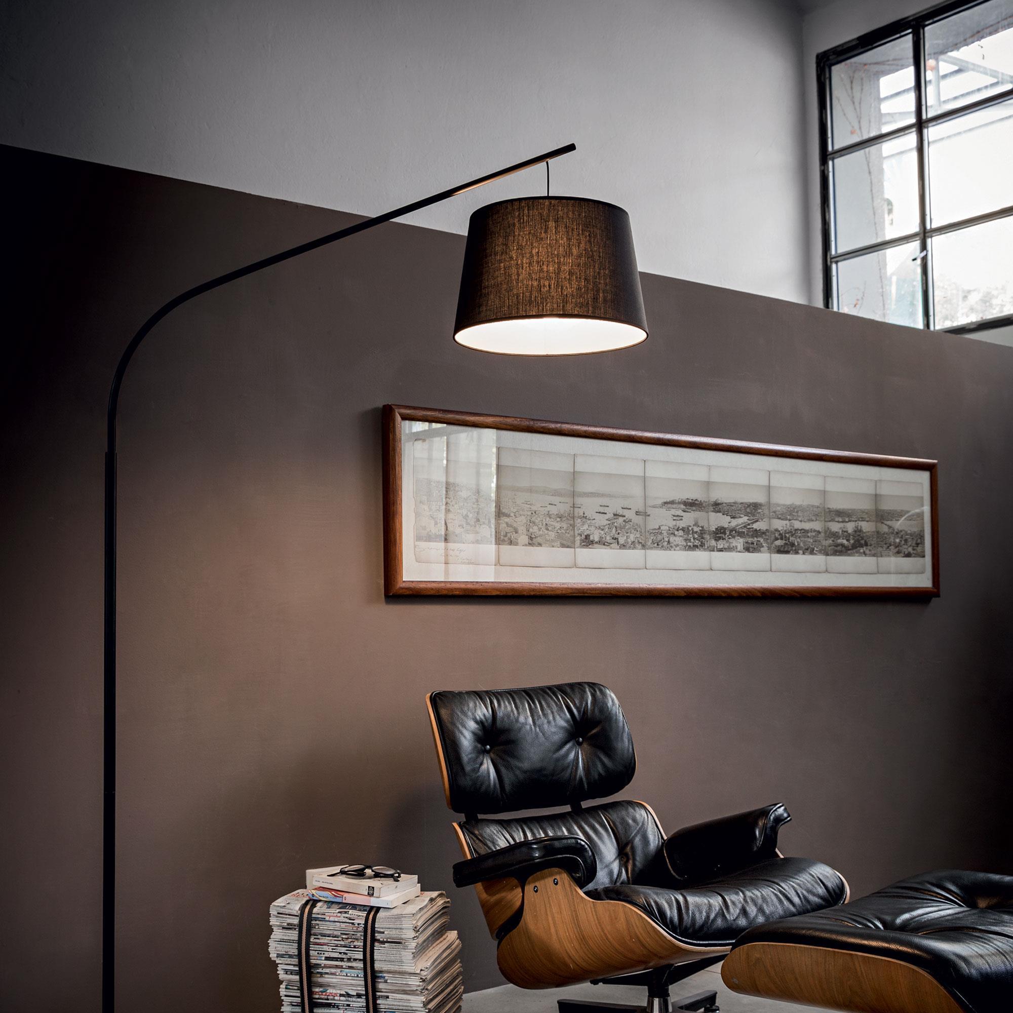 Ideal Lux 110363 Daddy PT1 Nero állólámpa